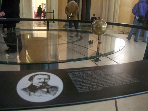 Foucault's Pendulum, working