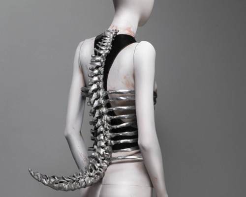 """Spine"" Corset, _Untitled_ by Alexander McQueen"