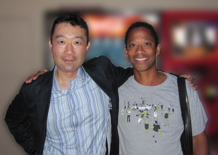 Picture of Johnnie Wilcox with Hiroshi Watanabe